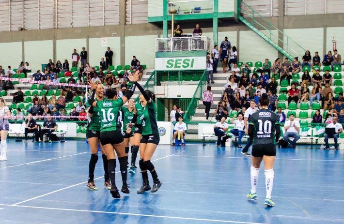Brasília Vôlei recebe o Sport na abertura da terceira rodada