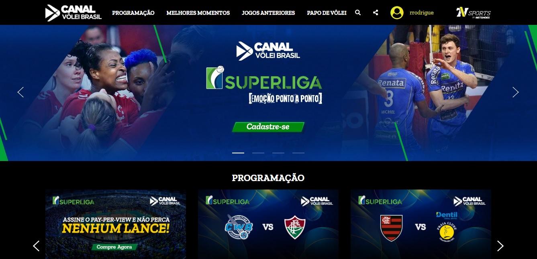 CBV concorre a prêmio por lançamento do pay per view da Superliga