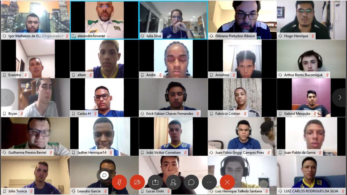 CBV promove apresentação virtual da seleção masculina sub-19 ?20200811015514