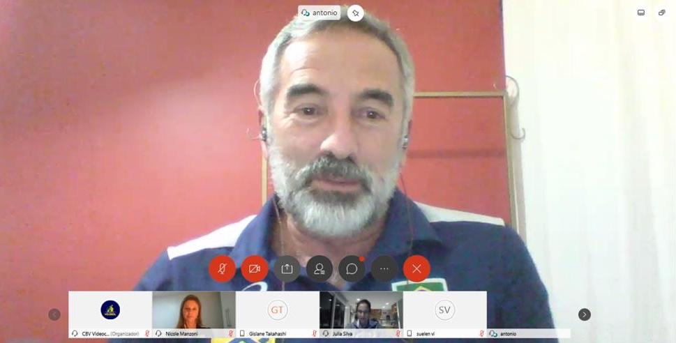 CBV promove encontro virtual sobre a psicologia do esporte nas categorias de base