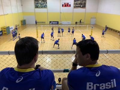 CBV promove Laboratório de Detecção de Talentos com 80 jovens atletas