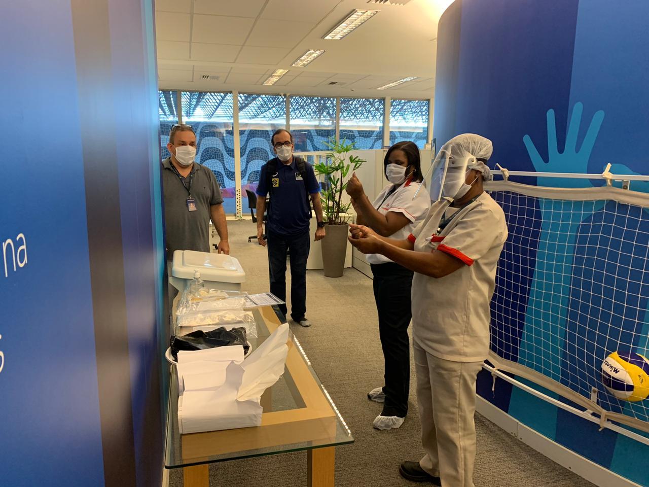 CBV reabre as portas com todo protocolo de segurança