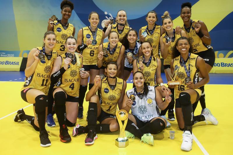 Dentil/Praia Clube vence Sesc RJ Flamengo e fica com o título