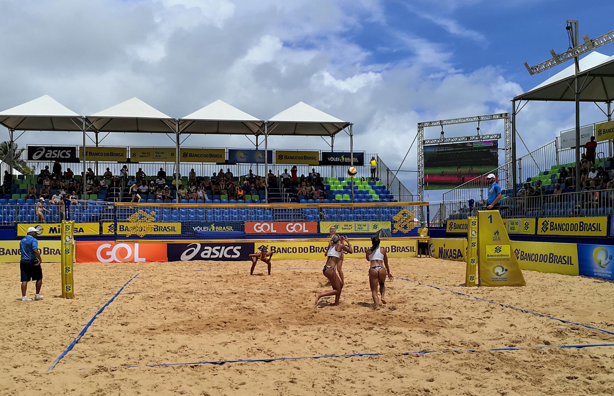 Disputas do qualifying definem grupos do torneio feminino em João Pessoa