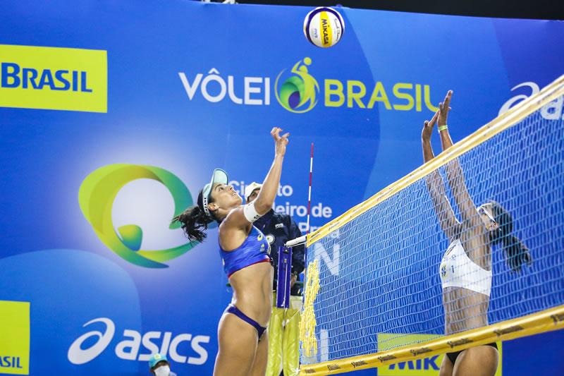 Duplas olímpicas decidem o título em Saquarema