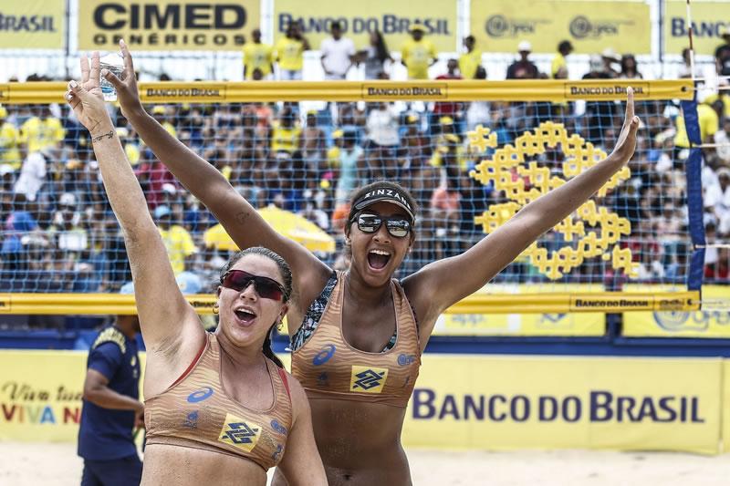 Duplas olímpicas revelam expectativa para estreia na competição