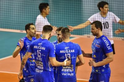 EMS Taubaté Funvic e Sada Cruzeiro vencem na segunda rodada