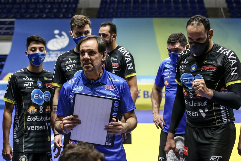 EMS Taubaté Funvic recebe o Vedacit/Vôlei Guarulhos pela segunda rodada