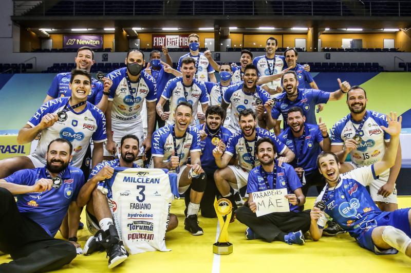 EMS Taubaté Funvic vence Sada Cruzeiro e garante título