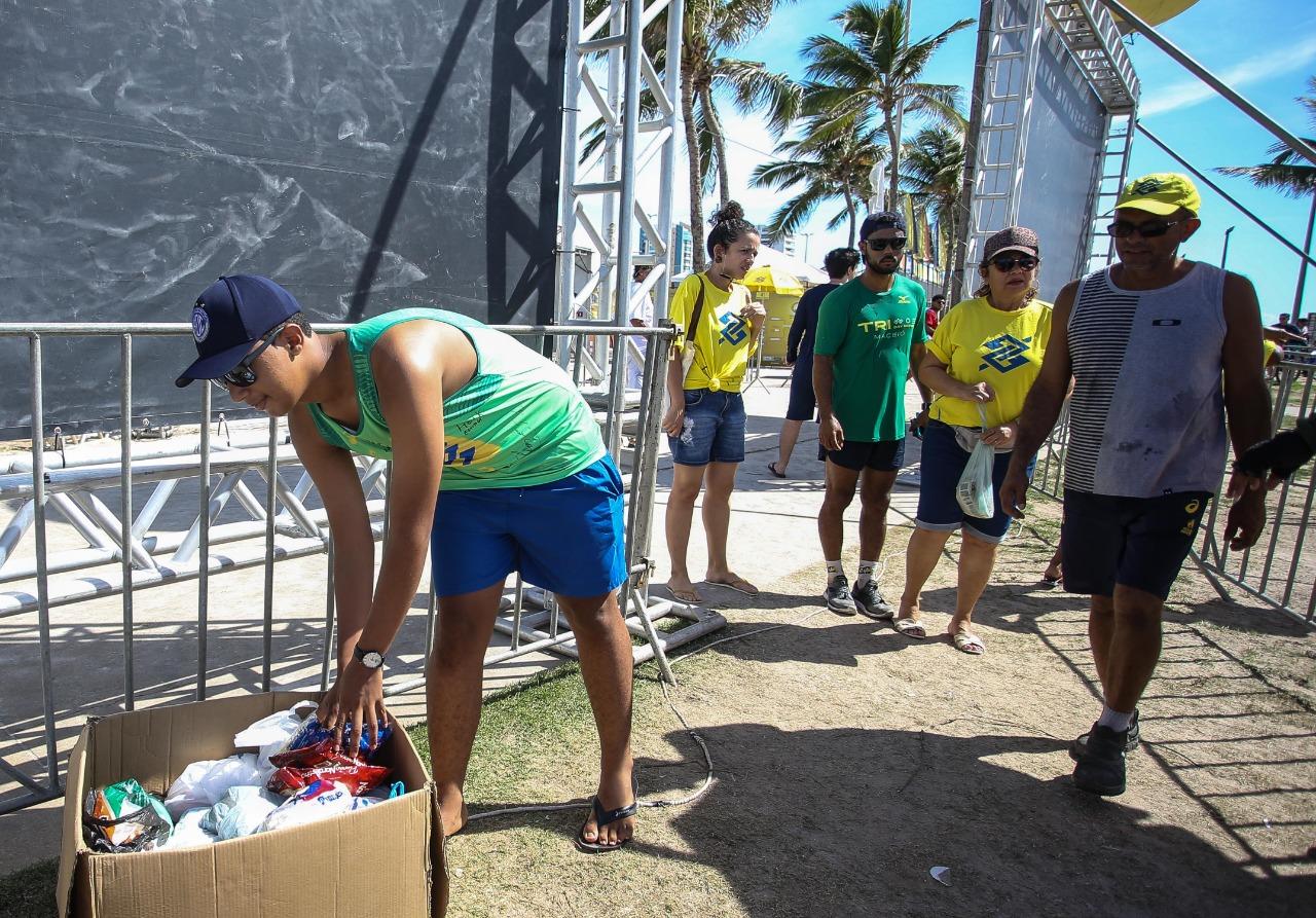 Etapa em Aracaju promove ações sociais com grande participação do público