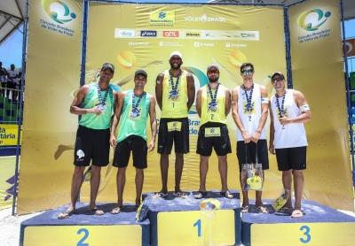 Evandro e Bruno Schmidt começam 2020 com título em Maceió (AL)