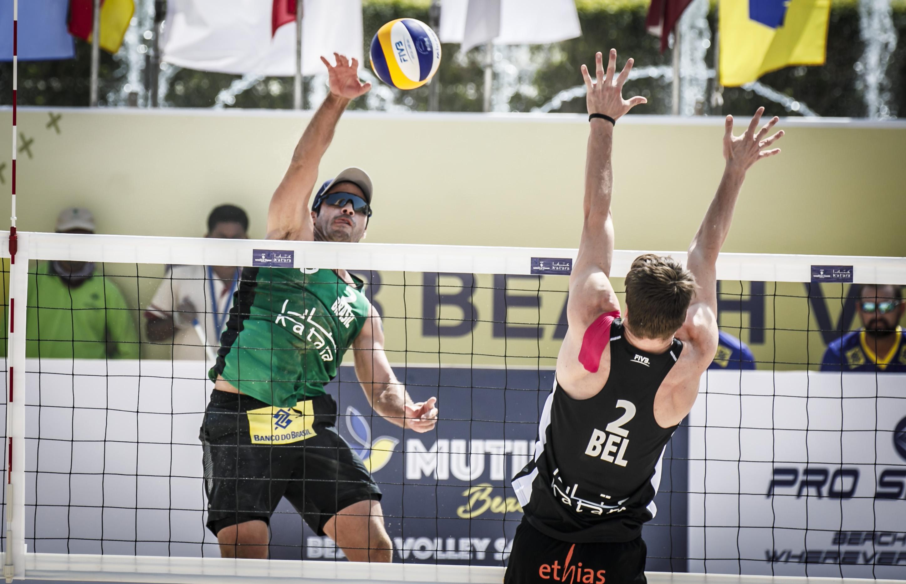 Evandro e Bruno Schmidt largam com vitórias e vão às oitavas de final em Doha?20200602125655