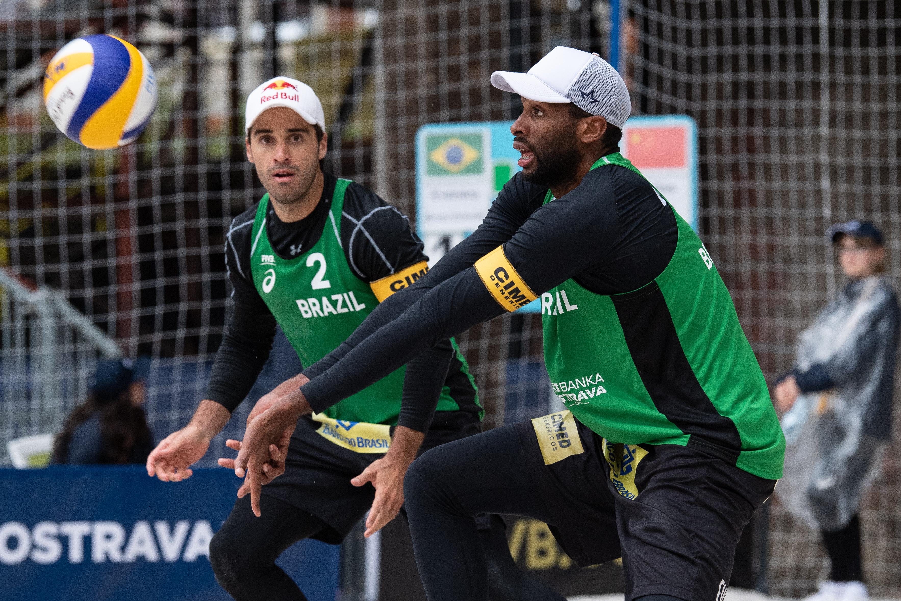 Evandro e Bruno Schmidt representam o Brasil no Qatar