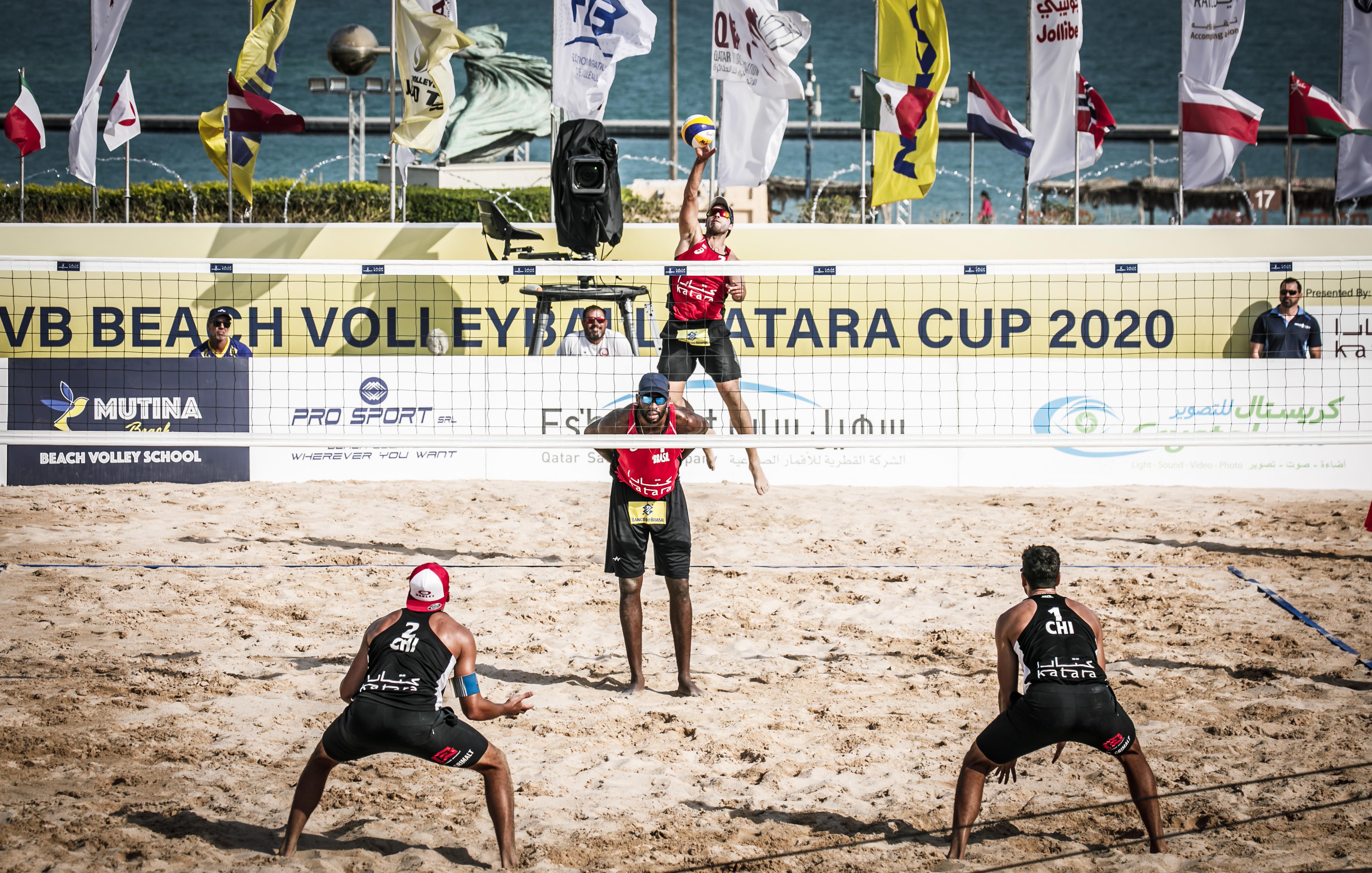 Evandro/Bruno Schmidt vence chilenos e vai às quartas de final em Doha?20200602171302