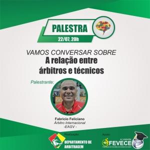 FEVECE promove palestra virtual sobre arbitragem