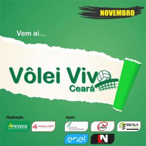 Fevece realizará em novembro a primeira edição do Vôlei Vivo Ceará