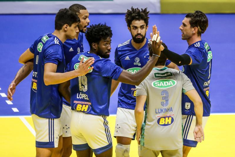Fiat/Minas e Sada Cruzeiro garantem vagas nas semifinais