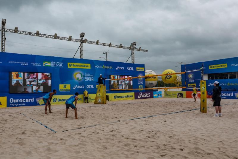 Final entre duplas olímpicas do Brasil decidirá a segunda etapa