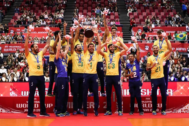 FIVB divulga ranking internacional e Brasil segue entre os primeiros