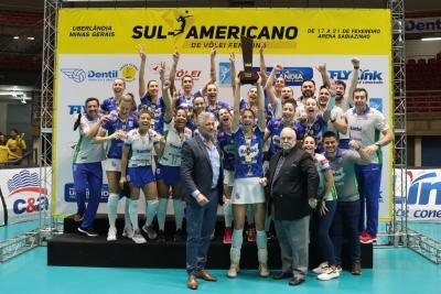 Itambé/Minas é campeão pela quinta vez