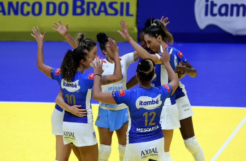 Itambé/Minas recebe Fluminense nesta sexta-feira