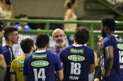 Marcelo Mendez, colecionador de títulos para o Sada Cruzeiro