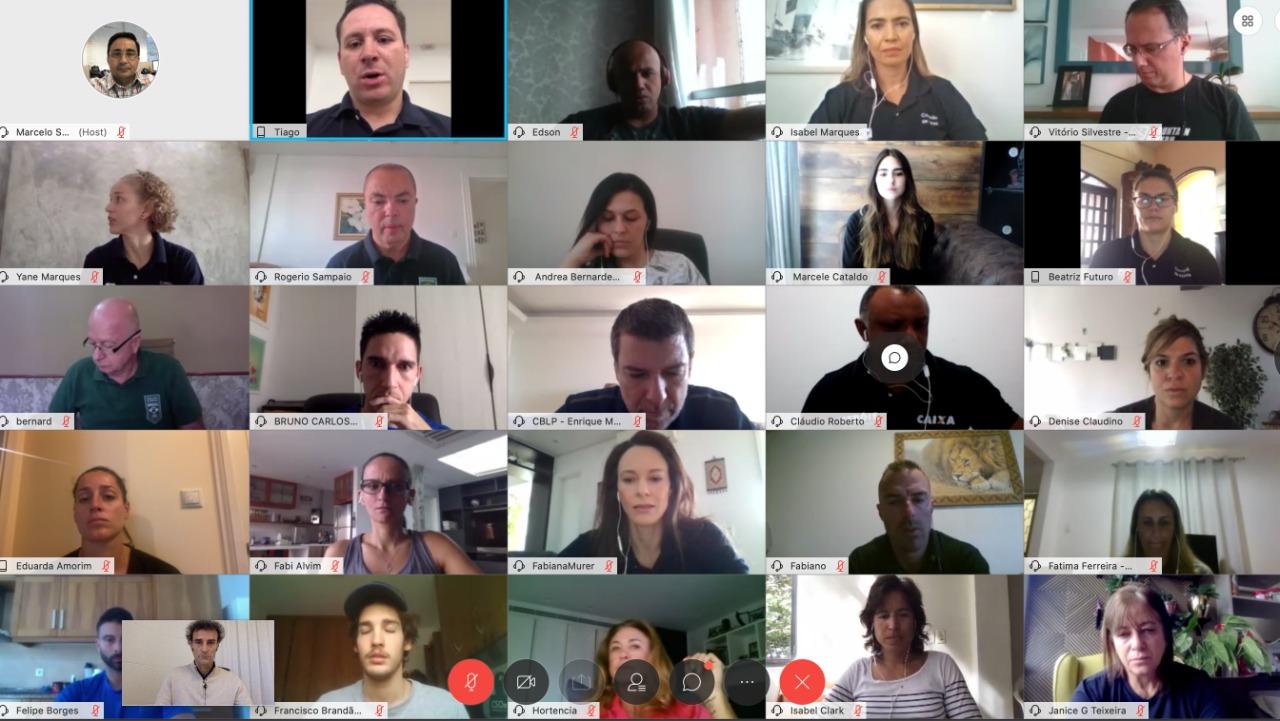No Dia Olímpico, fórum virtual reúne atletas brasileiros de diversas modalidades