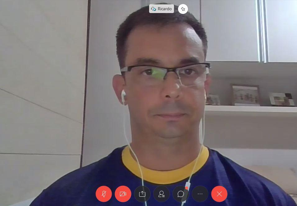 Palestra virtual aborda aspectos da recepção no encontro desta quarta-feira
