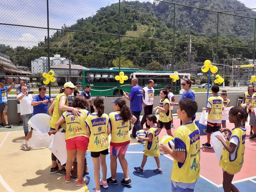 Programa da CBV inaugura primeiro núcleo em Angra dos Reis