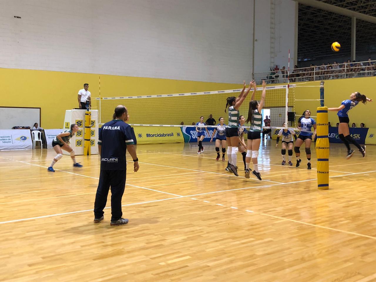 Rio de Janeiro e Paraná lideram a competição após segunda rodada