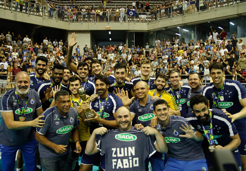 Sada Cruzeiro é campeão pela quinta vez