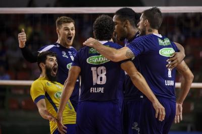 Sada Cruzeiro e EMS Taubaté Funvic disputam a primeira colocação