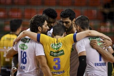 Sada Cruzeiro e EMS Taubaté Funvic representam o Brasil