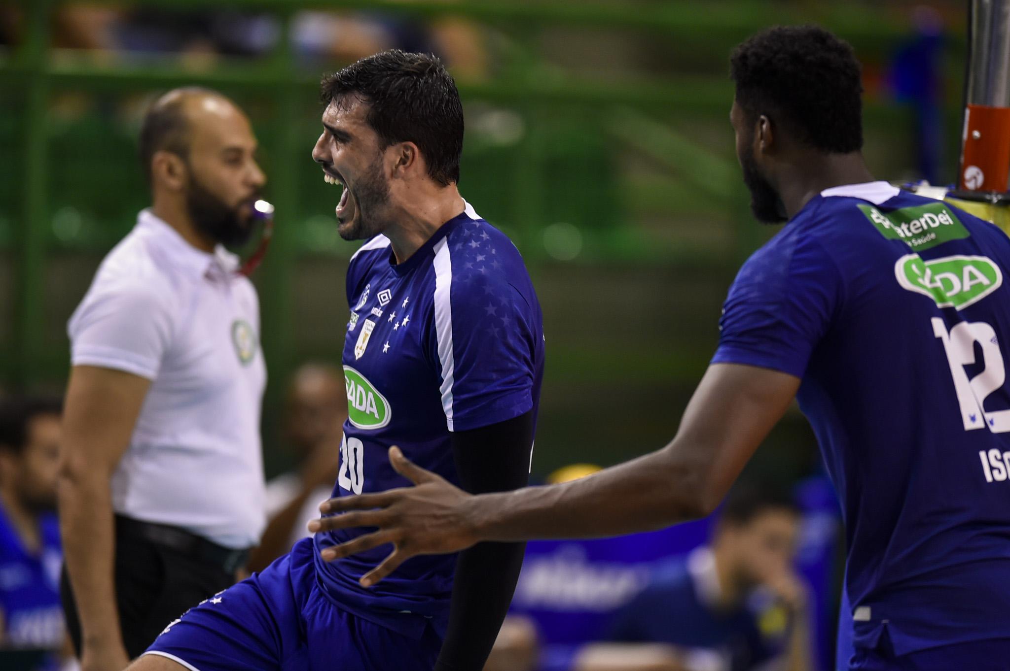 Sada Cruzeiro vence o Fiat/Minas no primeiro jogo de 2020