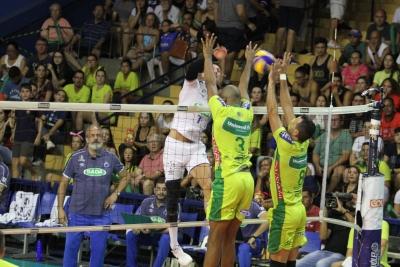 Sada Cruzeiro vence o Vôlei Renata em jogo bastante disputado
