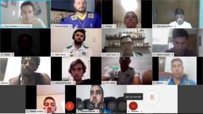 Seleção masculina Sub-21 realiza encontro virtual para alinhar planejamento