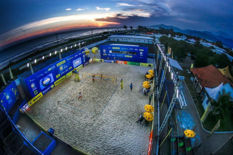 Semifinais acontecem ainda neste sábado em Saquarema (RJ)