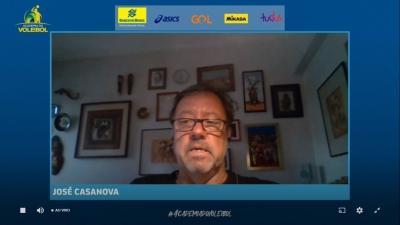Seminário online da CBV debate o cenário mundial da arbitragem no vôlei de praia