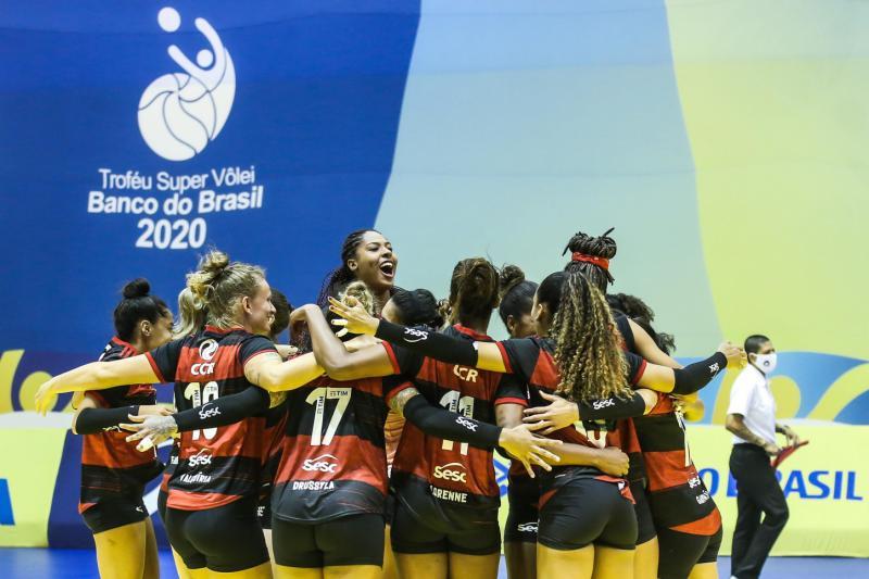 Sesc RJ Flamengo e Dentil/Praia Clube jogam a final neste sábado