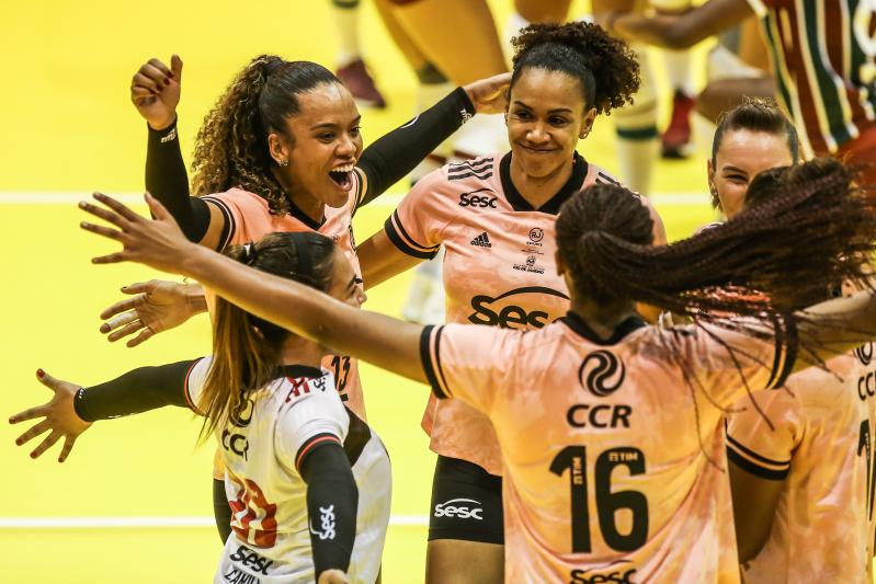 Sesc RJ Flamengo e Itambé/Minas estão na semifinal