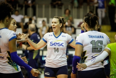Sesc-RJ recebe São Paulo/Barueri em casa nesta terça-feira