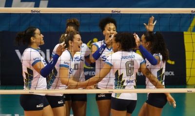 Sesc RJ vence São Paulo/Barueri e segue na liderança