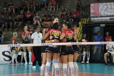 Sesi Vôlei Bauru e Osasco Audax São Cristóvão Saúde abrem o playoff
