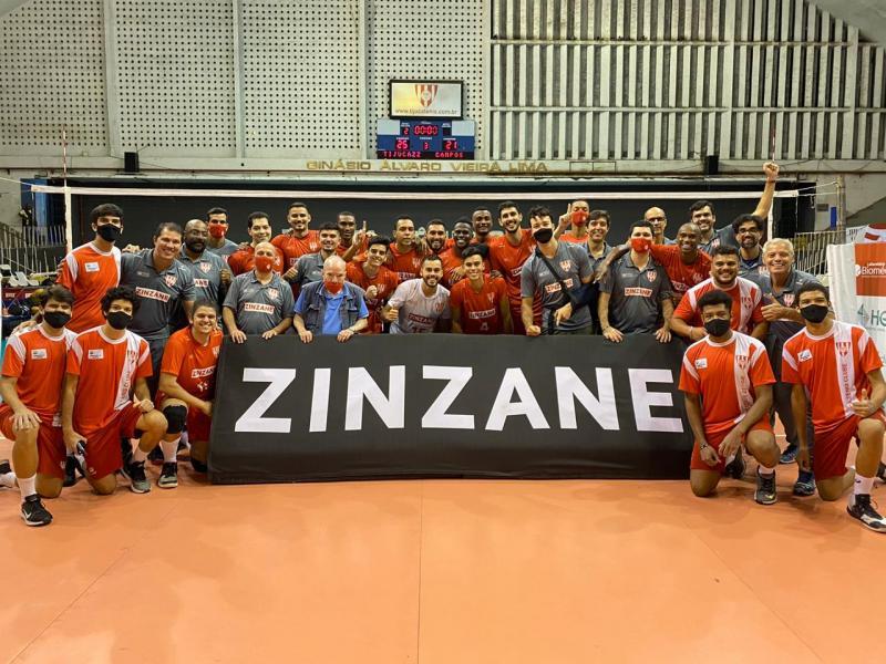 Tijuca T.C./Zinzane leva o título invicto do Grupo 5 da Superliga C