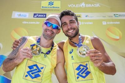 Título inédito de Hevaldo e Vinícius encerra etapa em Aracaju (SE)