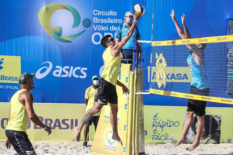Torneio masculino começa com 16 partidas pelo qualifying em Saquarema (RJ)