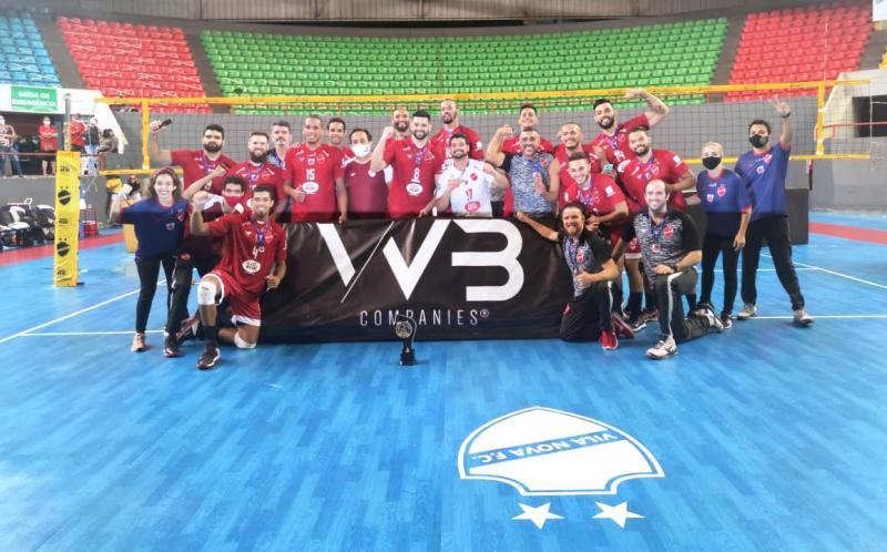 Vila Nova FC conquista o título do Grupo 4 da Superliga C e garante o acesso