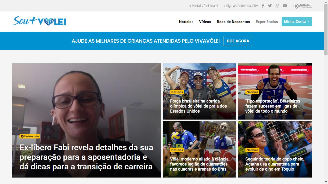 Vôlei brasileiro lança programa oficial de relacionamento