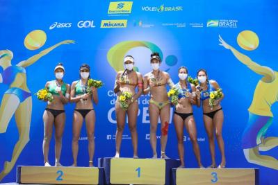 Ágatha e Duda abrem ano olímpico com mais um título em Saquarema