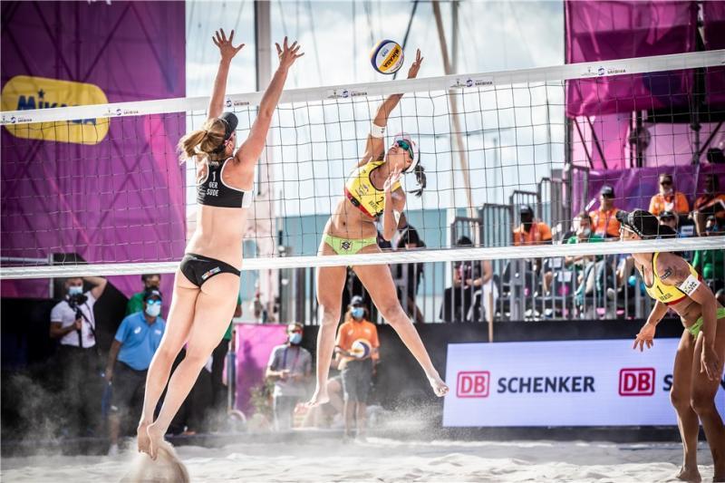Ágatha e Duda são superadas por alemãs e ficam em quinto no World Tour Finals